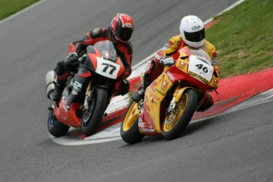 Lee R with Paul Ashton - Snetterton 2012